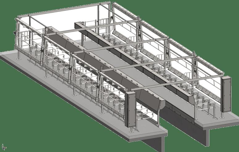 NESKO ENGINEERING - Melkstal CAD